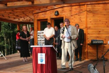 Prof. dr. Boštjan Anko je poslušalce navdušil z govorom o ohranjanju kulturne in naravne dediščine podeželja, posebno Goričkega.