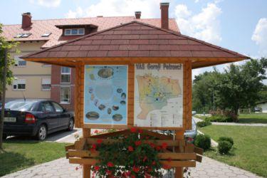 Postavili smo informativne točke in jih opremili z informativnimi plakati o projektu in vidri.