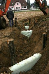 Remediacija potoka Lukaj v Kuzmi, izvedena s pomočjo podjetja Limnos.